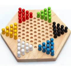 Hexdame (Hexagonal Checker Board Game)