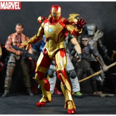 Marvel Ironman Mark42 Figurine 7""