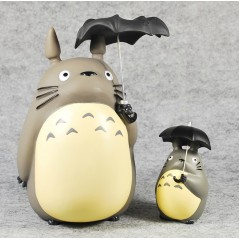 Totoro with Umbrella Figurine Coin Case