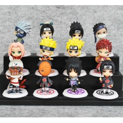 Naruto Q Version Mini Figurines Set